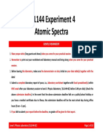 Expt 04 Atomic Spectra