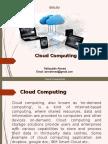 Seminar Report on cloud computing