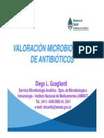 Valoración microbiológica de ATB