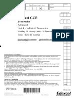 Unit 4 - Question Paper Jan 2004-1