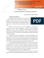 Artigo - Dispositivo Um Olhar Sobre as Produções Textuais No Ensino Superior