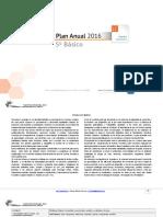 Planificacion Anual Lenguaje 5Basico 2016 (1)