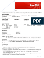 6.Lion Air ETicket (UHSYWZ) - Alamba