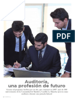 Auditoría, una profesión de futuro