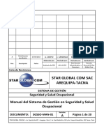 SGSSO-MAN-01.01-Manual Del Sistema de Gestion SSO