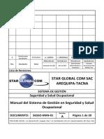 SGSSO-MAN-01.01-Manual Del Sistema de Gestion SSO
