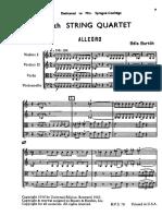 Bartok Cuarteto 5