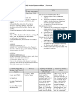 470e lesson plan 1 format