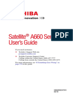 Toshiba Satellite® A660 Series User Guide