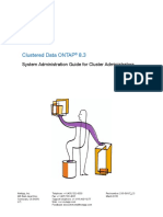 Clustered Data ONTAP® 8.3 Sys-Admin Guide for Cluster Admin March-15 Rel