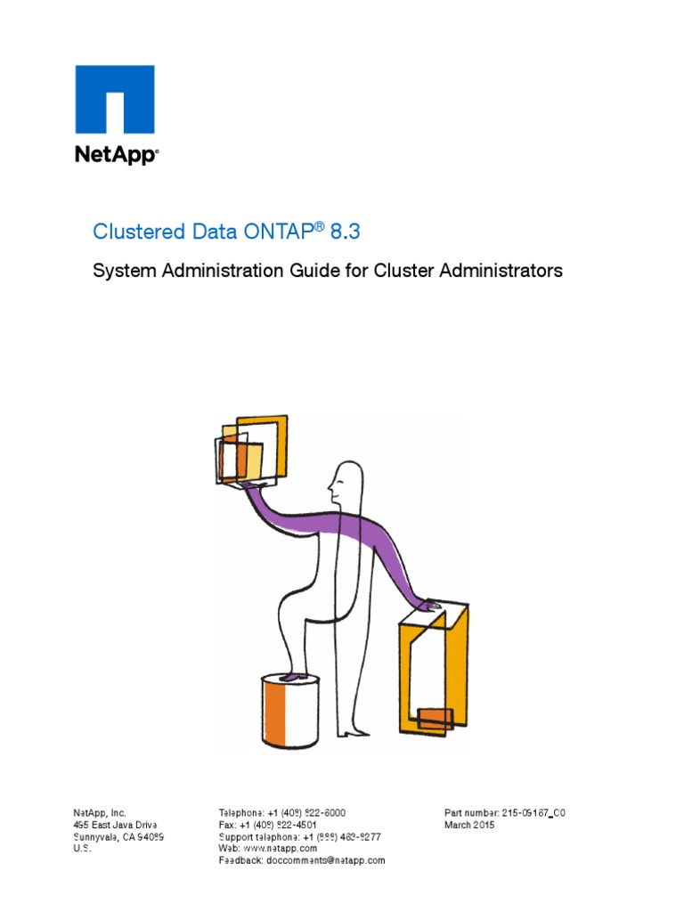 Clustered Data ONTAP® 8 3 Sys-Admin Guide for Cluster Admin