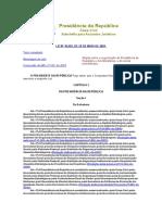 Organização Da Presidência Da República e Dos Ministérios - Lei 10683_2003