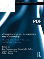 Adamson - 2013 - American Studies Ecocriticism and Citizenship Thinking and Acting in the Local and Global Commons