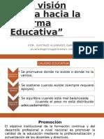 Vision Critica a La Reforma Educativa