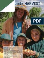 Newsletter - Community Garden Community Harvest - Spring '08