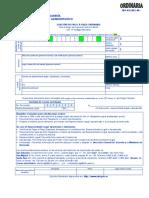 Solicitud Pago a Plazo Ordinaria -201