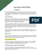 4 global trading across asset classes