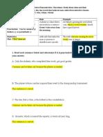 grammar summative study guide