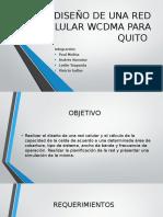 Diseño de Una Red Celular Wcdma Para Quito