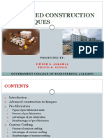 Advances in Constructional Technology