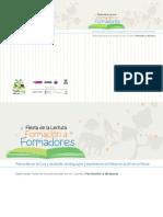 Fiesta de La Lectura Formación a Formadores Guía 1 Desarrollo Formación y Registro