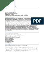 Syllabus PMGT 610 Strategic Mgmt Spring 2015 (Rev 01 12 15)