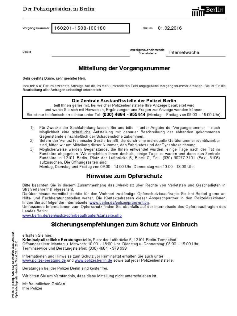 anzeige polizei berlin