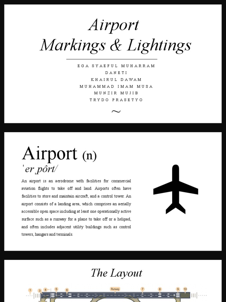 sc 1 st  Scribd & Ppt Airport Signs and Markings | Airport | Runway