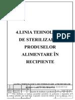 4.Linia Tehnologică de Conservare a Produselor Alimentare În Recipiente