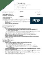 Davis Resume