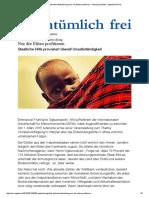 Entwicklungshilfe Lähmt Entwicklung_ Nur Die Eliten Profitieren - Henning Lindhoff - Eigentümlich Frei