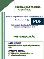 METODOLOGIA DA PESQUISA - 1ª AULA def.ppt
