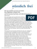 Karl Und Kirche_ Mit Copy and Paste Zur Sonne Zur Freiheit - Henning Lindhoff - Eigentümlich Frei
