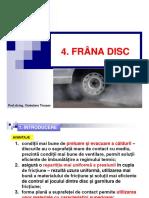Tema 4 Frana Disc