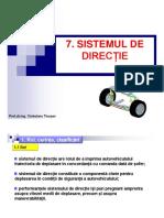 Tema 7 Sistemul de Directie