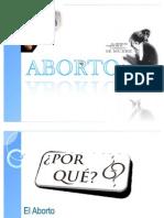 EXPOSICIÓN EL ABORTO