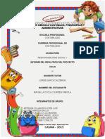 Informe Final Del Proyecto Rsp Social V
