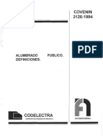 3126-94 Alumbrado Publico. Definiciones
