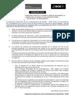AVISO - Ley de Contrataciones y Su Reglamento