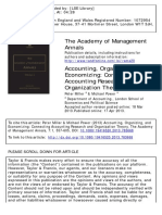 Accounting, Organizing, And Economizing_Miller_Power