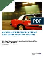 OXO Expert Documentation - Call Center Office