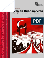 Julieta Infantino, Circo en Buenos Aires