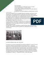 Historia Nacional Del Atletismo y Sus Tipos