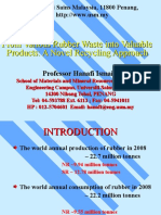 Plenary 7 - From Various Rubber Waste Into Valuable Products