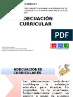 Adecuacion Curricular