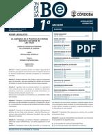 El Código de convivencia en el Boletín Oficial