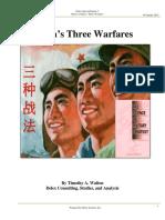 Three Warfares