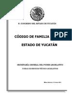 Codigo de Familia Para El Estado de Yucatan