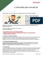 6 Caracteristicas Valorizadas Mercado Trabalho