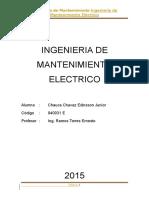 Ingenieria de Mantenimiento Electrico
